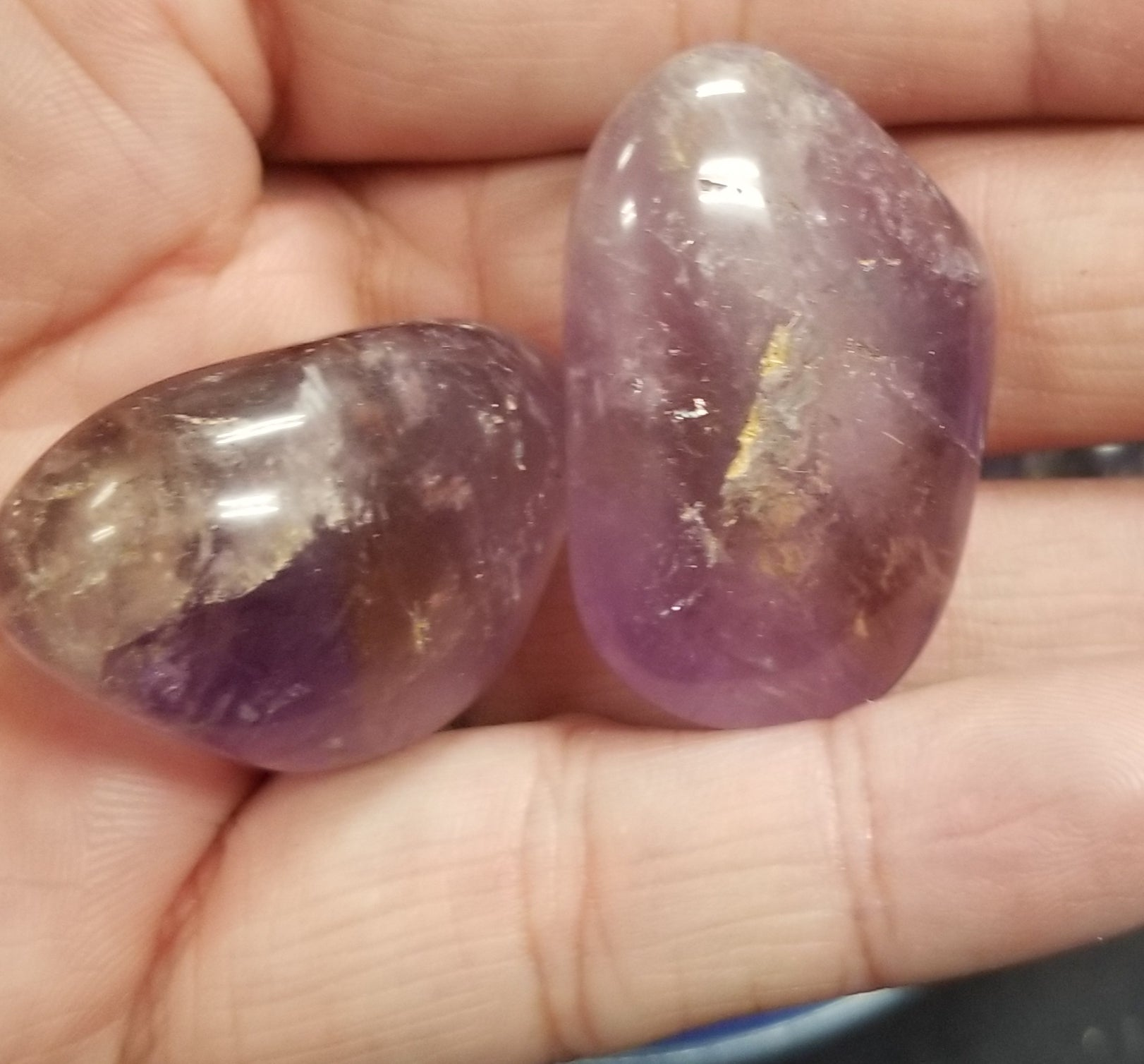 Ametrine Pocket Stone