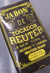 Reuter Soap 3.3 Oz Bar