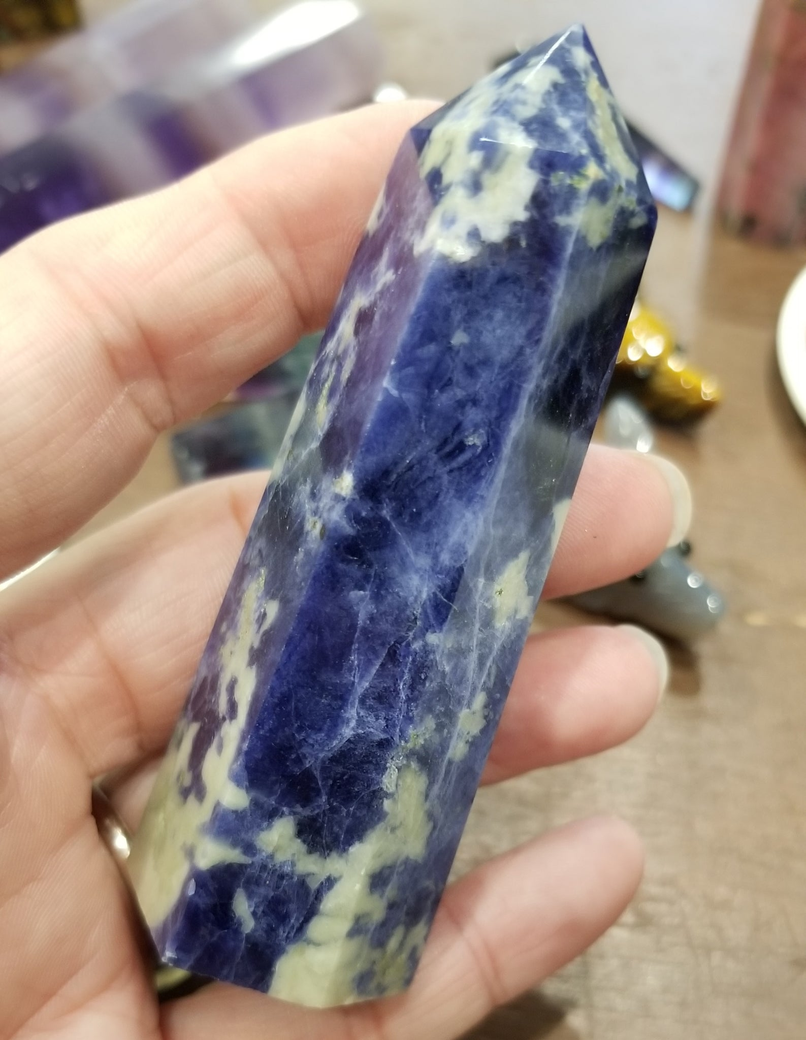 Sodalite Obelisk Tower
