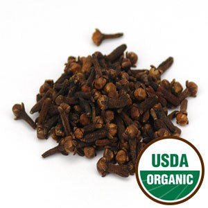 Organic Whole Cloves 1 oz