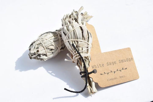 A Touch of Gold Home and Body - White Sage Smudge - 4