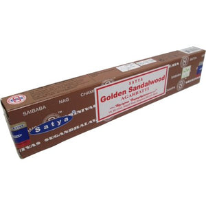 Satya Golden Sandalwood 15gm Incense