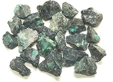 Emerald Free Form Pocket Stone Size
