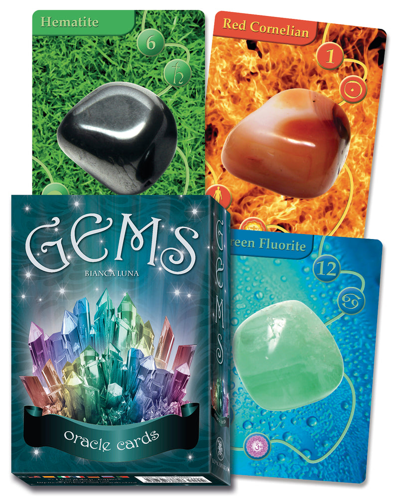 Gems Oracle Cards By Lo Scarabeo