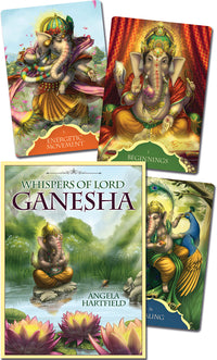 Whispers of Lord Ganesha  by Angela Hartfield, Ekaterina Golovanova