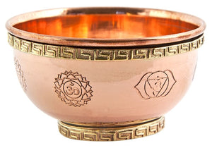 Chakra Offering Copper Bowl