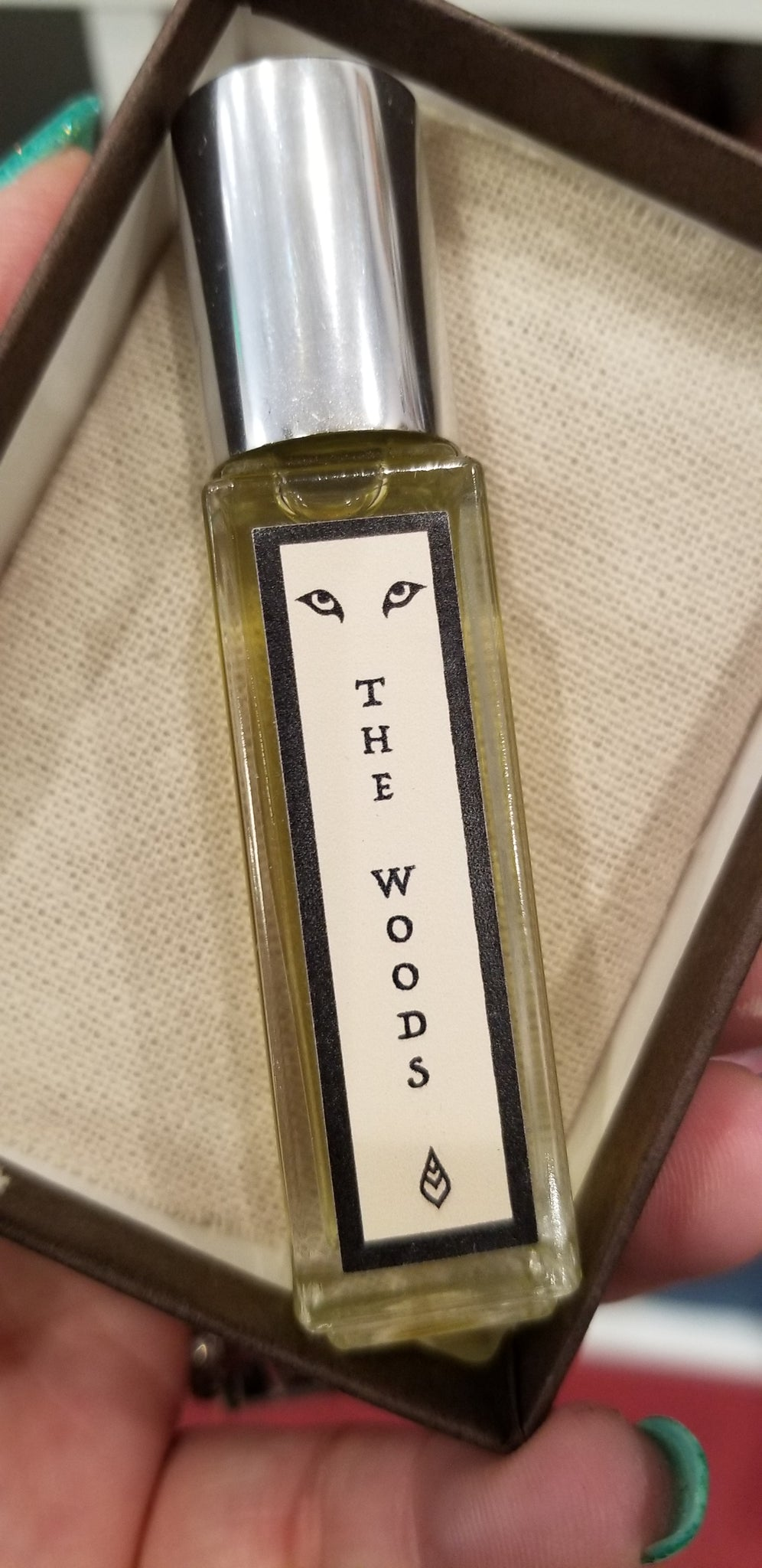 The woods handcrafted natural perfume