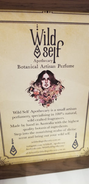 Wild self apothecary wild heart handcrafted natural perfume