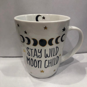Stay wild moon child mug
