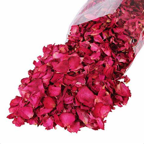 Dried Sifted Rose Petals 1/2 Ounce