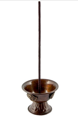 Tibetan Copper Incense Burner