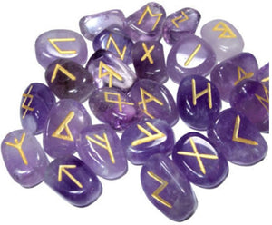 Amethyst Rune assorted