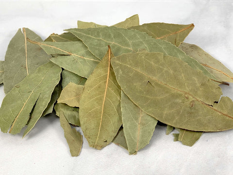 Whole Dried Bay Leaves (Laurus nobilis) 1/2 Oz