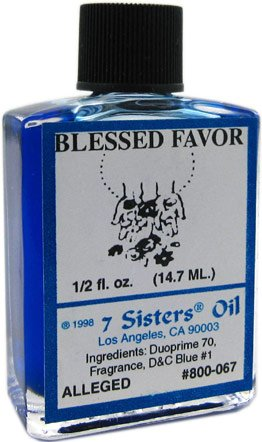 Blessed Favor 1/2 OZ Ritual Oil