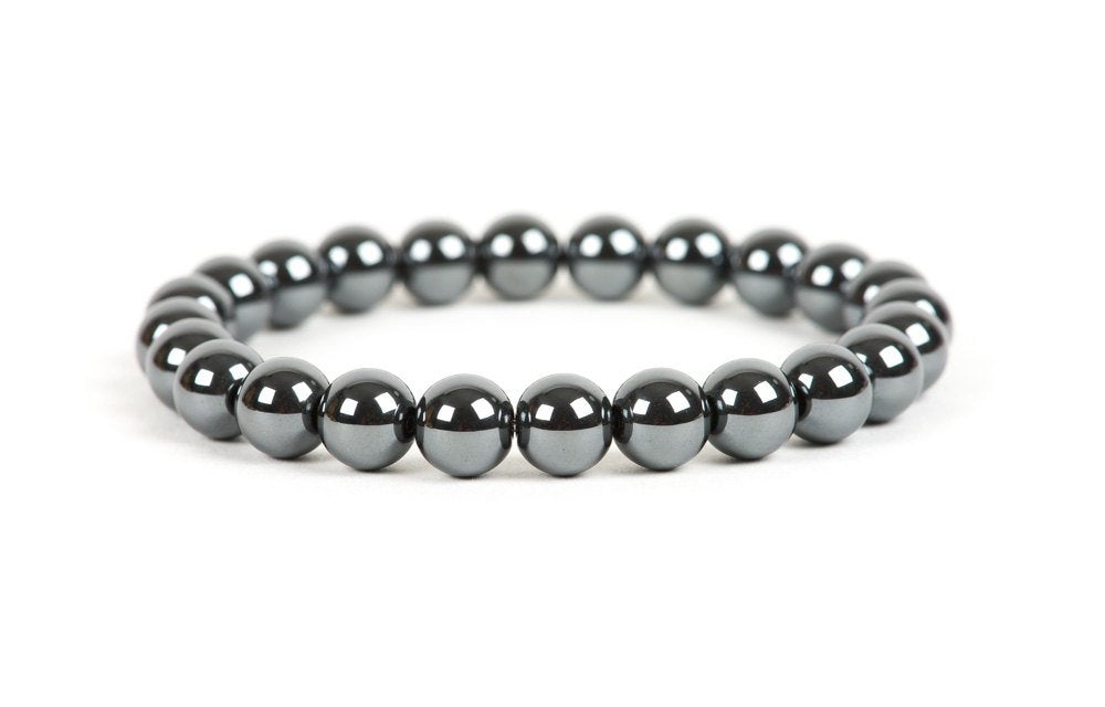 Natural Hematite Beaded Healing Bracelet item