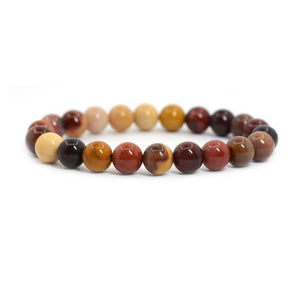 Natural Mookaite Beaded Healing Bracelet