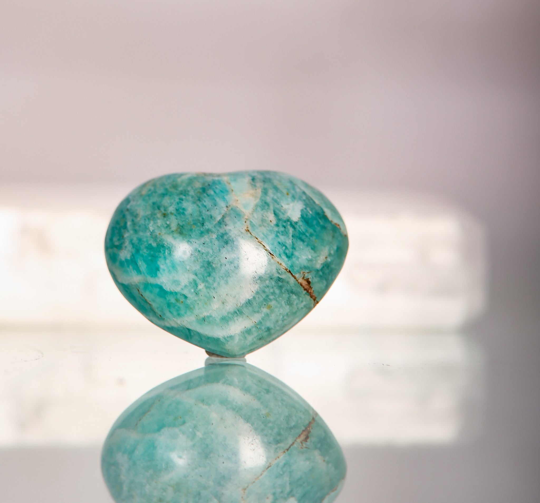 Amazonite Small Hearts
