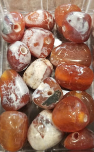 Freeform Fire Agate Nugget 12mm-14mm Bead