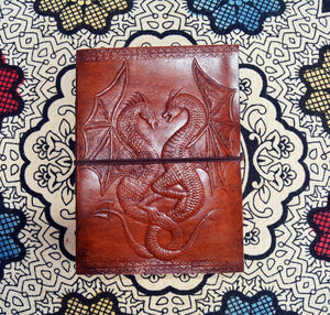 Dragon Leather 5x7 Journal