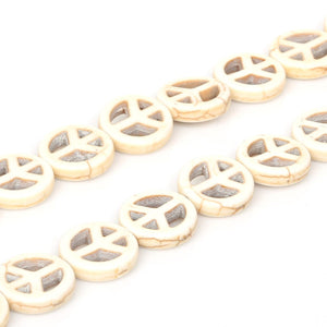 Howlite Bead Components
