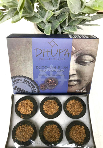 Buddha's Bliss Meditation Cups