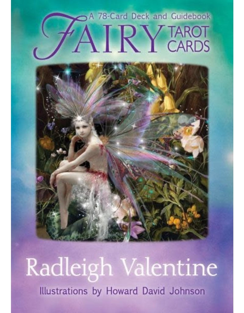 Out of Print - New, Rare, Sealed Fairy Tarot Cards by Doreen Virtue and Radleigh Valentine