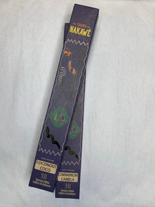 Nakawe Handmade Incense 10pc