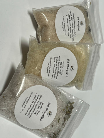 Sage, Eucalyptus and Hemp Bath Salt - 4 oz Jar