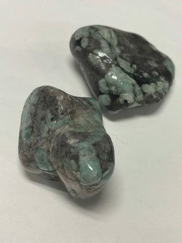 Freeform Polished Tumbled Emerald