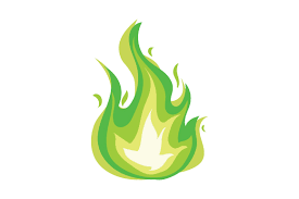 Green Flame Oil