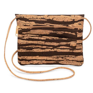 Be Lively 2-IN-1 Cross Body Bag + Hip Bag | Bark Cork