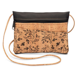 Be Lively 2-IN-1 Cross Body Bag + Hip Bag | Floral Print