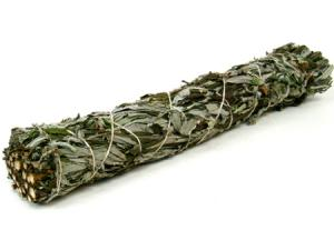 8 inch Large Mugwort Black Sage Smudge