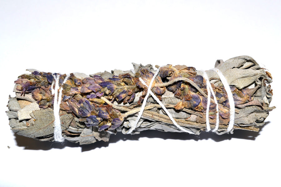 Royal Lavender Sage Smudge 4 inch Size Limited  Edition