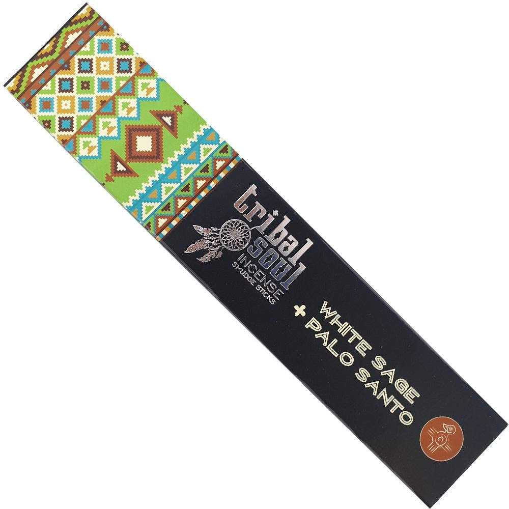 Tribal Soul White Sage + Palo Santo 15gm Incense