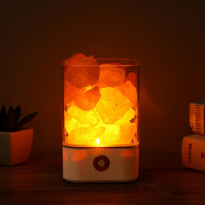 USB himalayan salt lamp led Lamp Air Purifier - Trend Talon