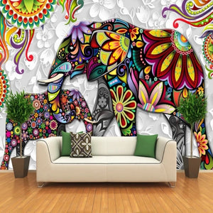 Custom Size Photo India Yoga Mural - Trend Talon