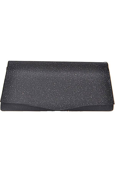 Rectangular Glittery Evening Clutch