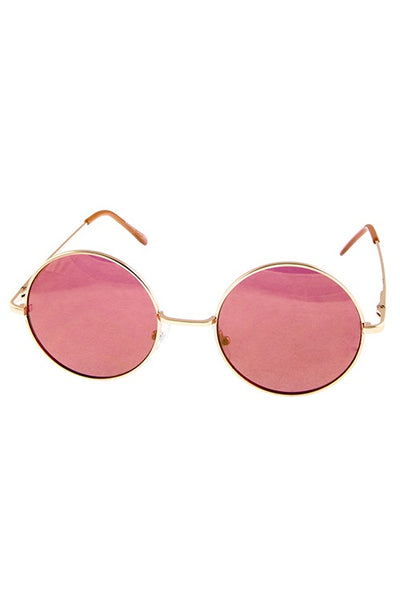 Women Hipster Dashing Round Shaped Sunglasses