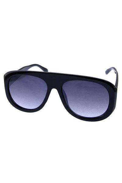 90's Female Plastic Aviator Fashion Sunglasses