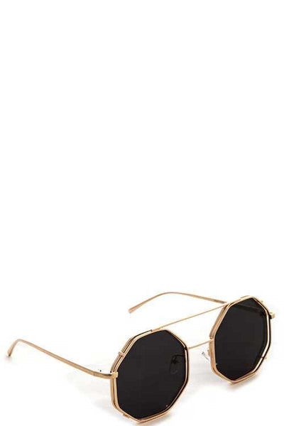 Modern Fashion Angled Sunglasses