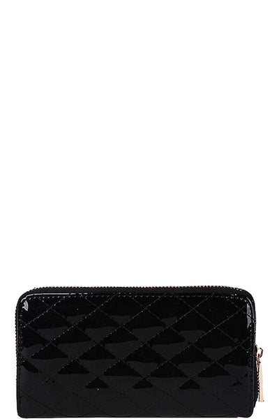Modish Gleaming Clutch with Hand Strap