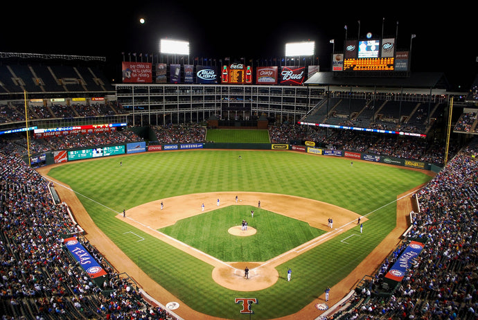 SCNT Goes to the Texas Rangers Ballpark