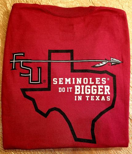 Seminole Texas Outline Short Sleeve