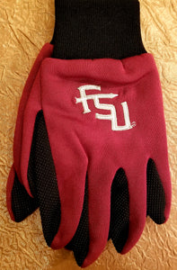 Licensed FSU Utility Gloves