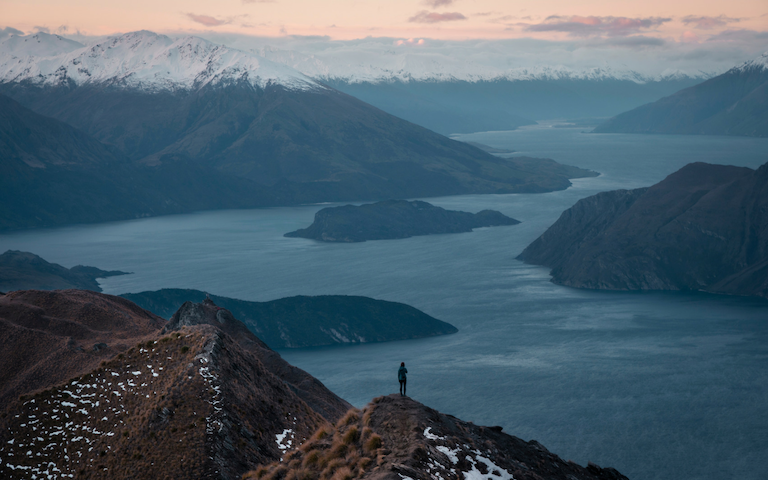 Roy's Peak New Zealand