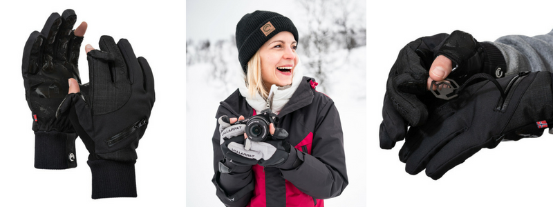 Women's Photography Gloves