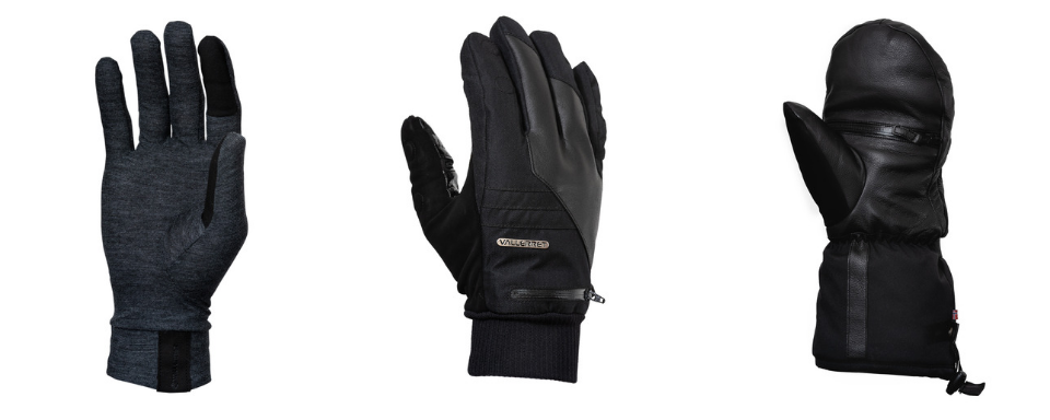 Markhof pro photography glove and liner