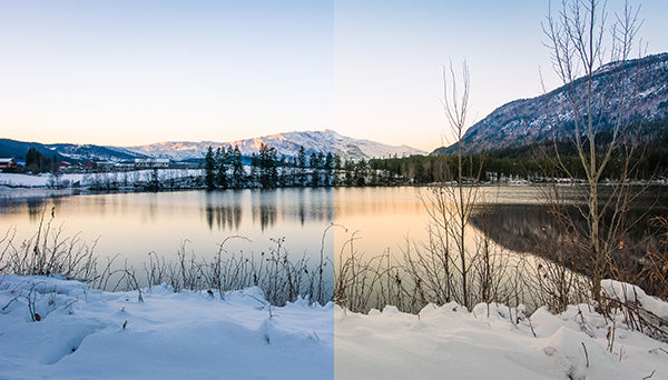 How to improve winter photography