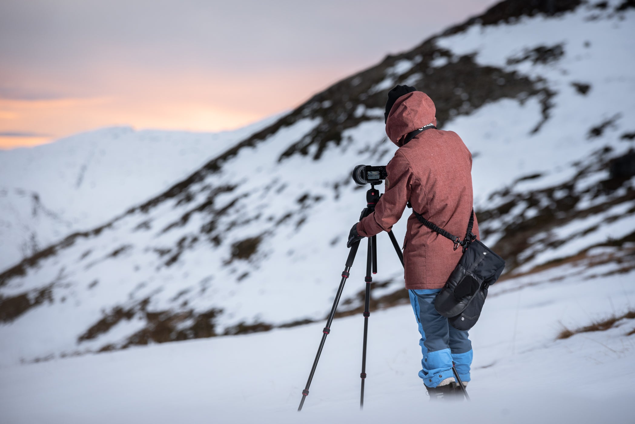 photographing in arctic conditions
